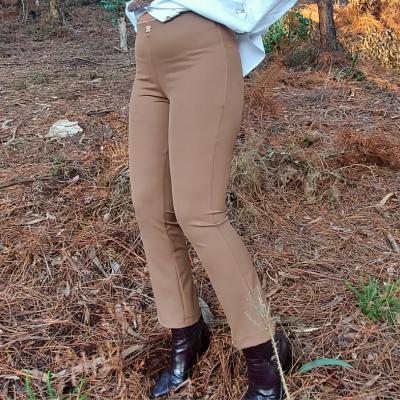 Calça camel feminina Roberta Biagi®️