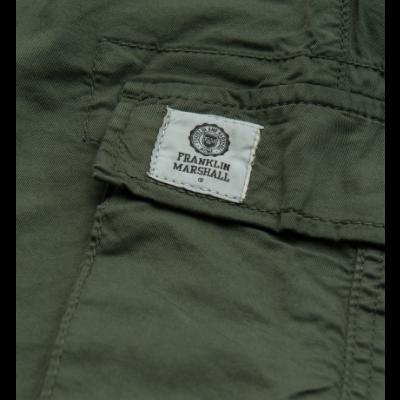 Calça verde com bolsos laterais Franklin & Marshall