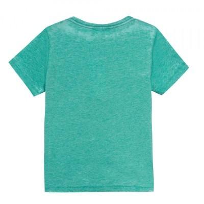 T-shirt verde 3pommes