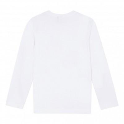 Camisola branca de algodão 3pommes