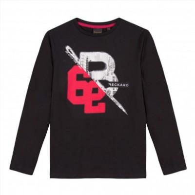 Camisola preta algodão Beckaro