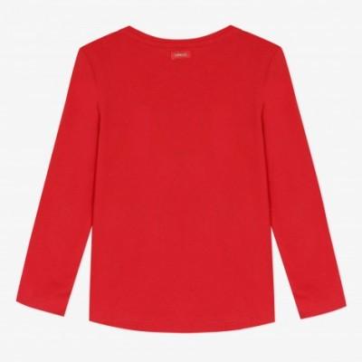 Camisola manga comprida vermelha Catimini