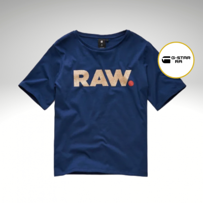 T-shirt azul G-Star Raw