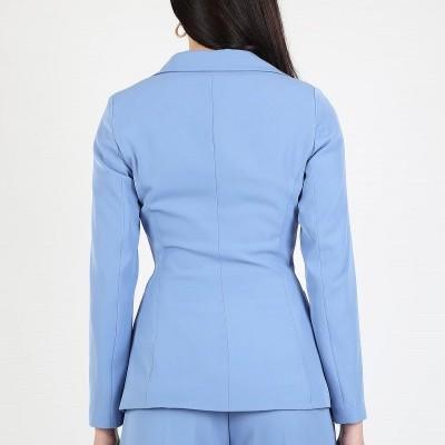 Blazer clássico azul Roberta Biagi