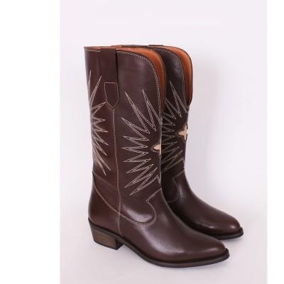 Botas de tacão cowboy Sahoco