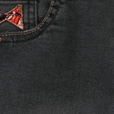 Calças de ganga pretas Catimini