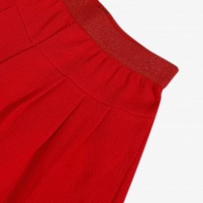 Calça larga vermelha Catimini
