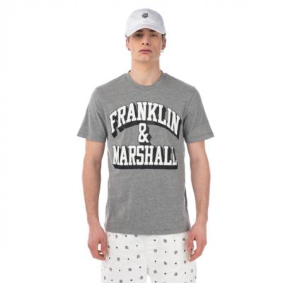 T-shirt cinza Franklin & Marshall