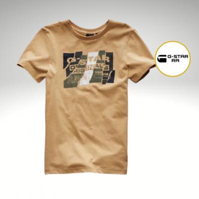 T-shirt camel G-Star Raw
