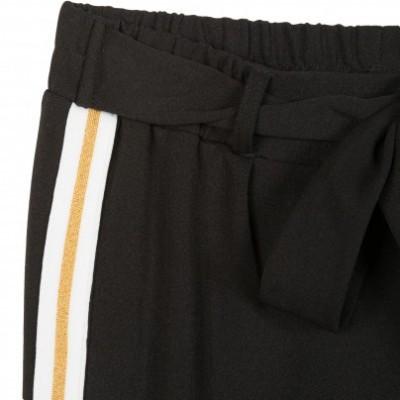 Calça preta listra lateral Beckaro
