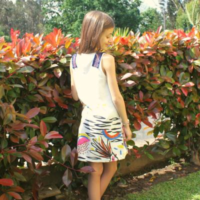 Vestido colorido Catimini