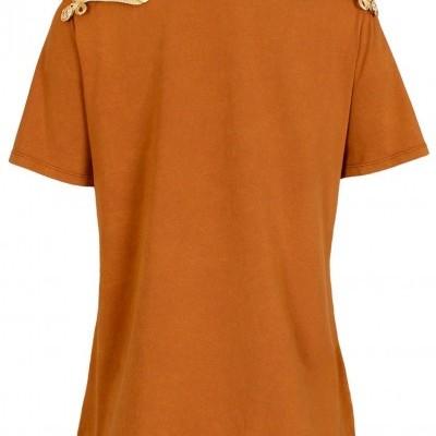 T-shirt mostarda Sahoco