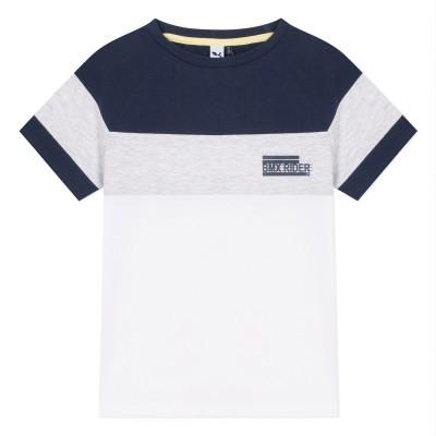T-shirt tricolor 3pommes