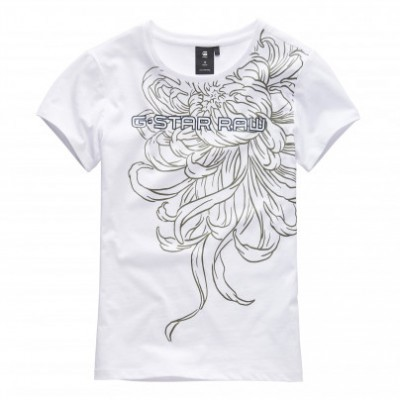 T-shirt branca G-Star Raw