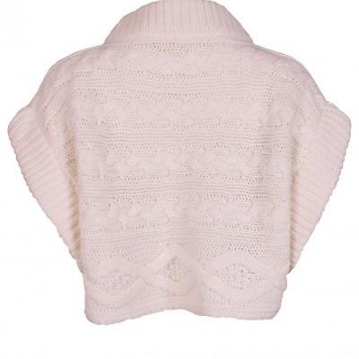 Camisola malha manga curta branca Sahoco®️