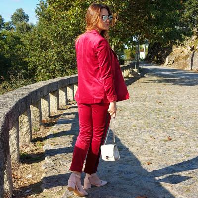 Calça de veludo feminina Liu Jo®️