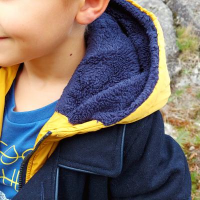 Casaco azul marinho infantil Catimini®️