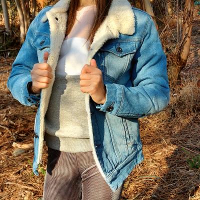 Casaco jeans com pelo por dentro G-Star Raw®️
