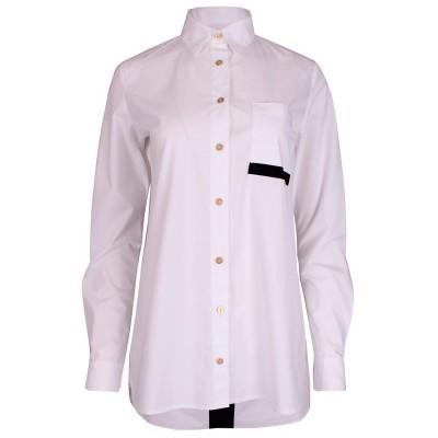 Camisa branca oversized Sahoco