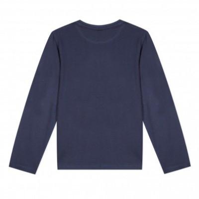 Camisola de algodão azul marinho 3pommes