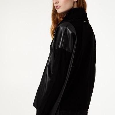 Camisola preta manga longa Liu Jo®️