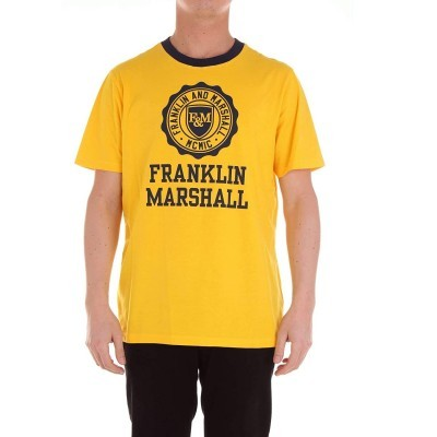 T-shirt amarela Franklin & Marshall