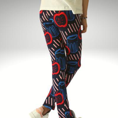 Leggings padrão retro Catimini