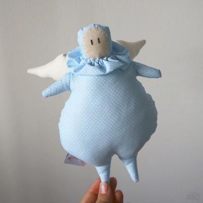 Anjinho Cupcake Azul