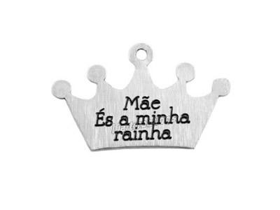 "Pendente Coroa ""Mãe és a minha rainha"""