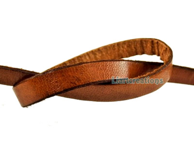Cabedal Plano Liso 10mm Camel