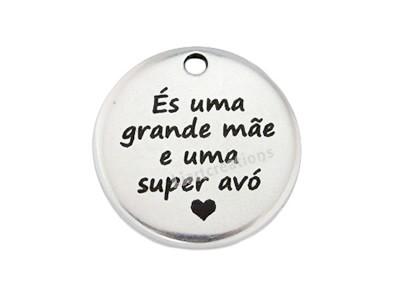 """Medalha """"És uma grande mãe e uma super avó"""""""