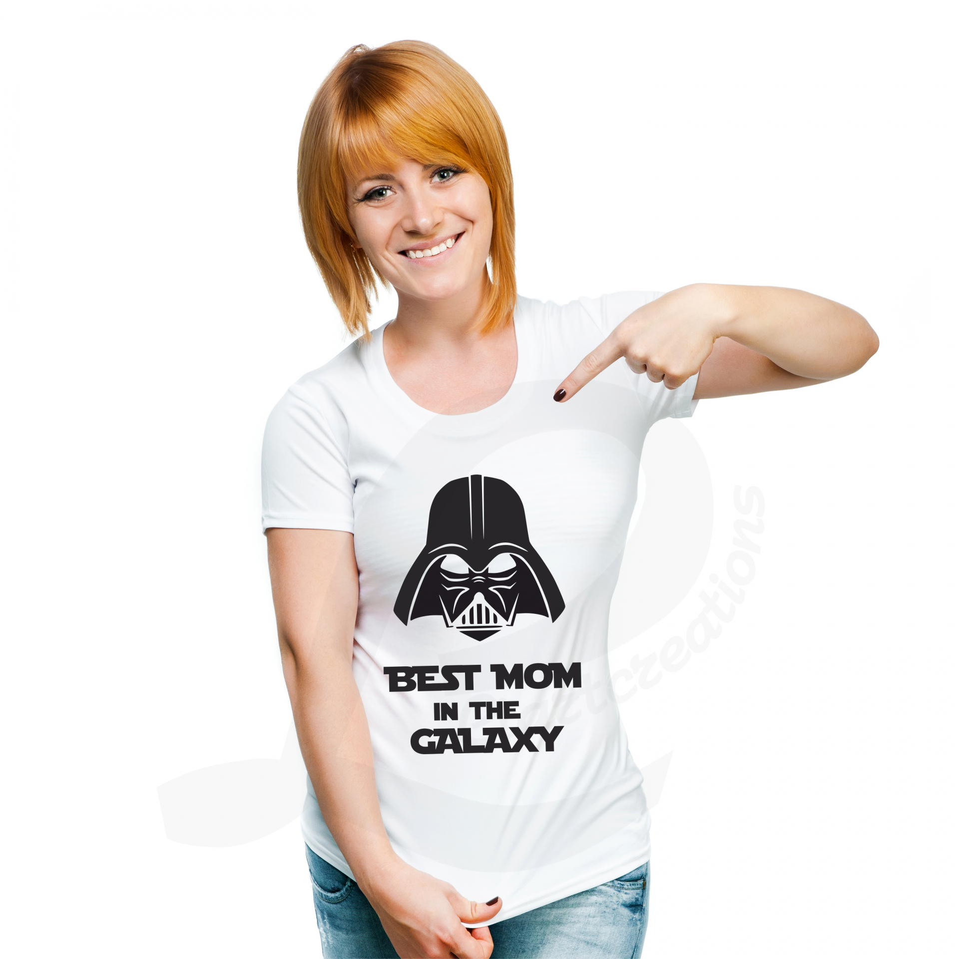 "T-shirt ""Best Mom in the Galaxy"""