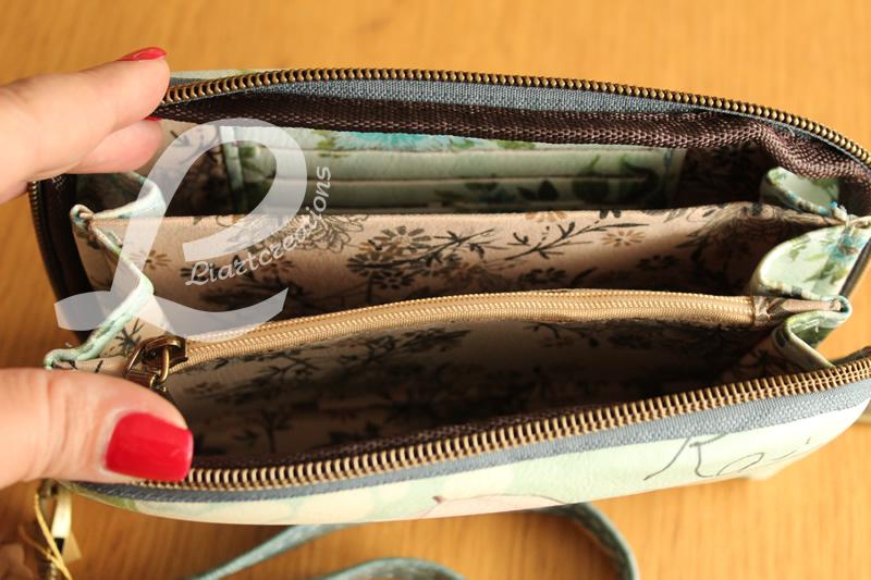 Bolsa de Mão Verde com Alça