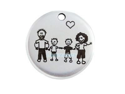 Medalha Zamak Família