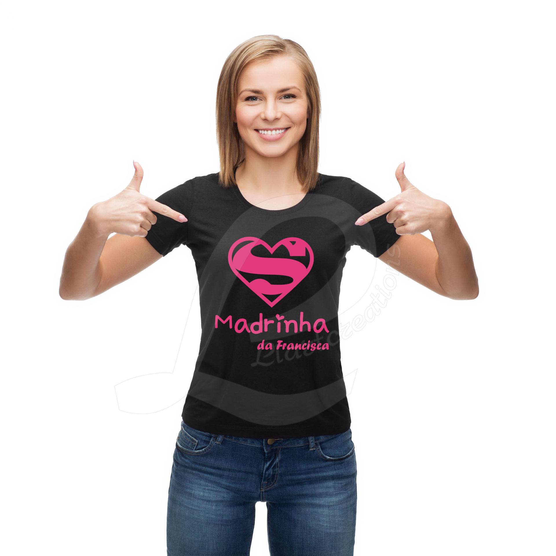 """T-shirt """"Super Madrinha"""""""