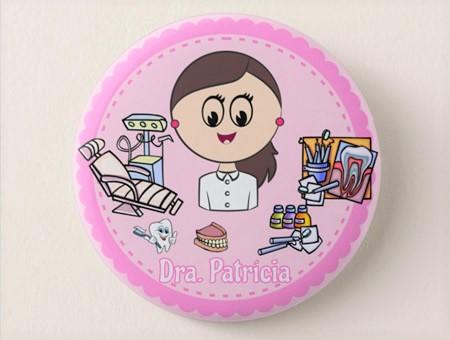 Crachá Personalizável Médico/a Dentista