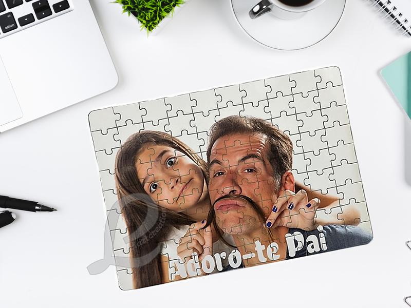 Puzzle Personalizado com fotografia e mensagem a gosto