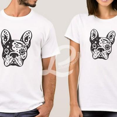T-shirt Bulldog Francês