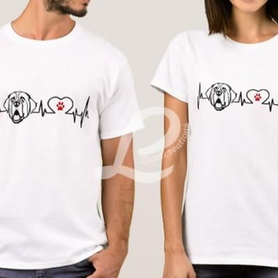 T-shirt Batimentos Cardiacos São Bernardo