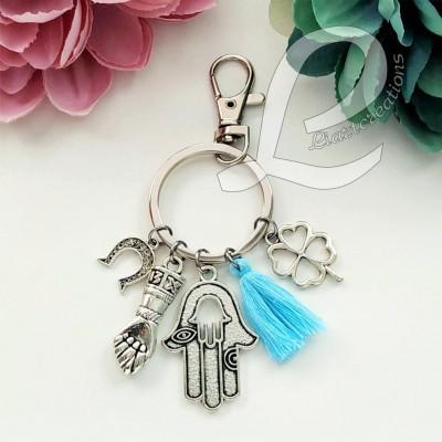 Porta-Chaves Amuletos da Sorte