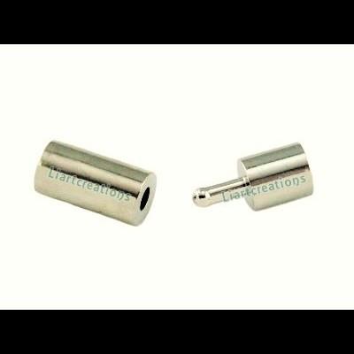 Fecho de Pressão p/ Cabedal Roliço 5mm