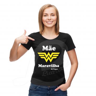 "T-shirt ou Sweat  ""Mãe Maravilha"""