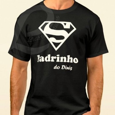 "T-shirt ""Super Padrinho"""