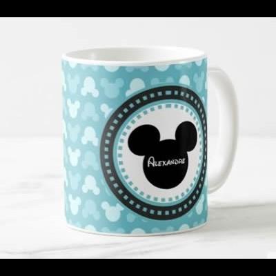 Caneca Mickey + Nome