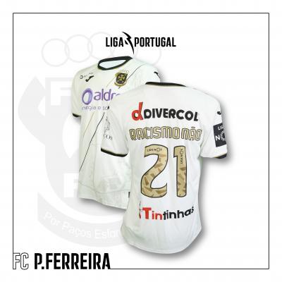 Camisola FC Paços de Ferreira | Jornada Racismo Não