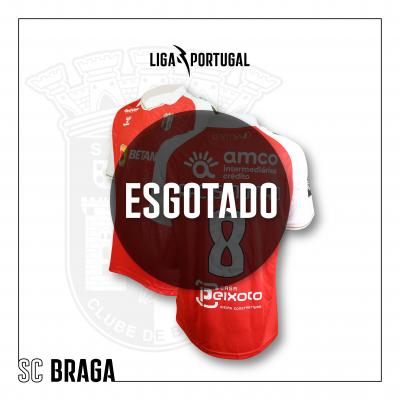 Camisola SC Braga   Jornada Racismo Não
