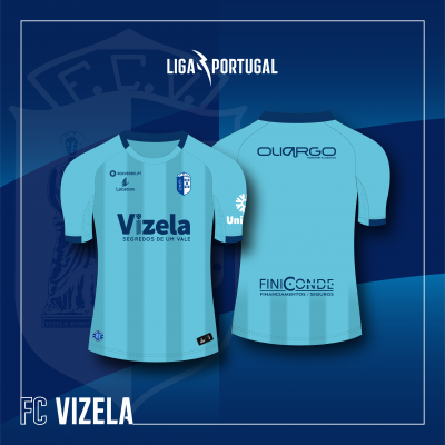 Camisola Equipamento Principal FC Vizela