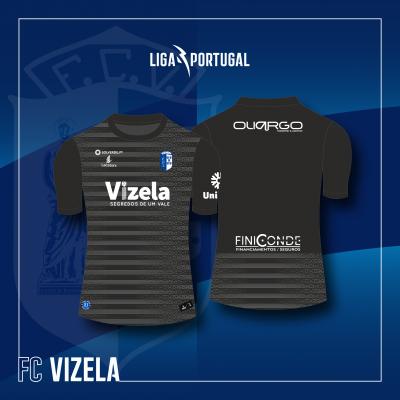 Camisola Equipamento Preto Guarda Redes FC Vizela