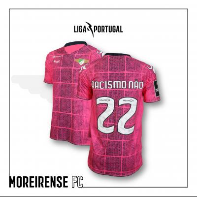 Camisola Moreirense FC | Jornada Racismo Não