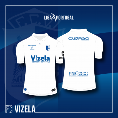 Camisola Equipamento Alternativo FC Vizela